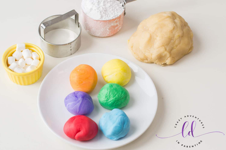 Rainbow Cookies Ingredients