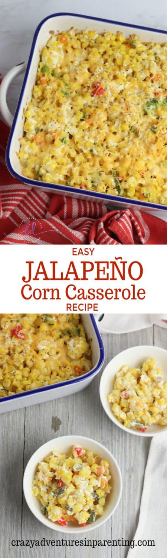 Easy Jalapeño Corn Casserole Recipe