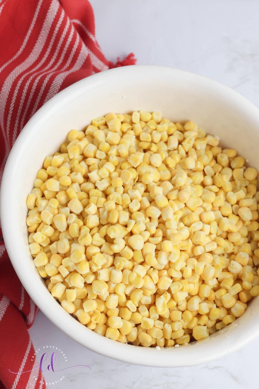 Frozen Corn for Jalapeño Corn Casserole