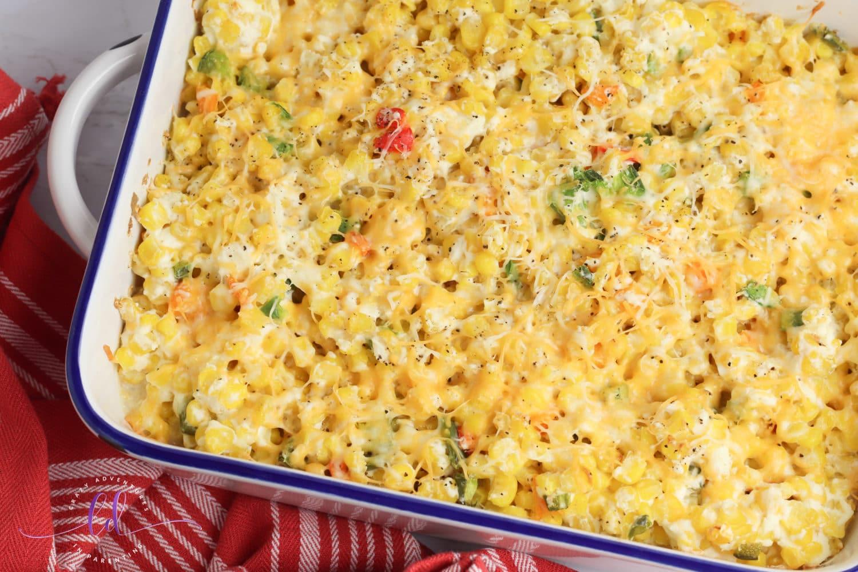 Gorgeous Jalapeño Corn Casserole