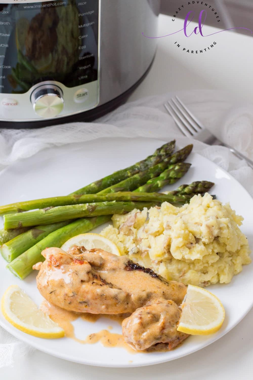Instant Pot Lemon Butter Chicken Recipe for Busy Weeknight Meals
