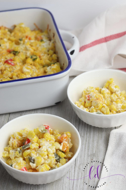 Jalapeño Corn Casserole for Summer