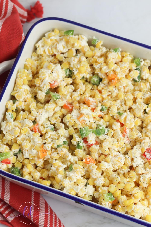 Ready to Bake Jalapeño Corn Casserole