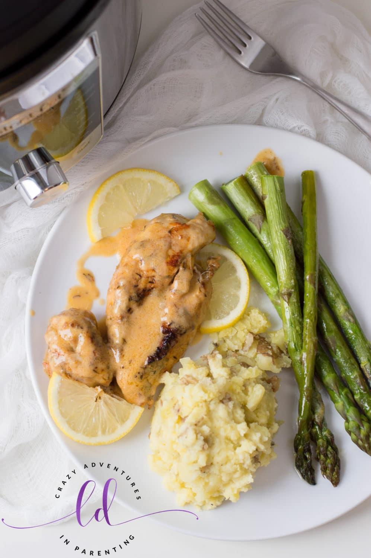 Simple Instant Pot Lemon Butter Chicken Recipe