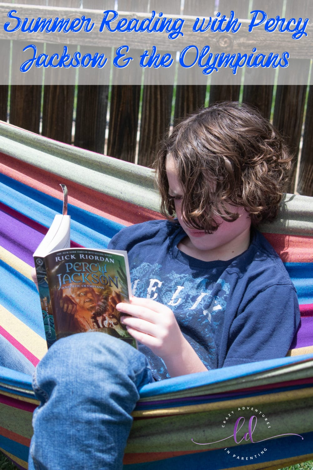 Summer Reading with Percy Jackson and the Olympians
