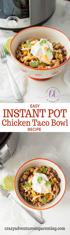 Best Instant Pot Chicken Taco Bowl Recipe
