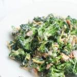 Easy Broccoli Salad with Bacon Side Dish Recipe