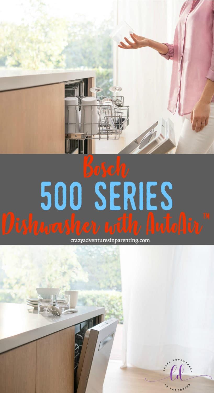 Bosch 500 Series Dishwasher with AutoAir