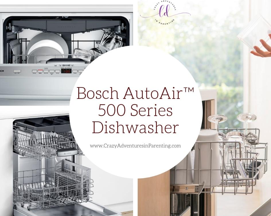Bosch AutoAir™ 500 Series Dishwasher