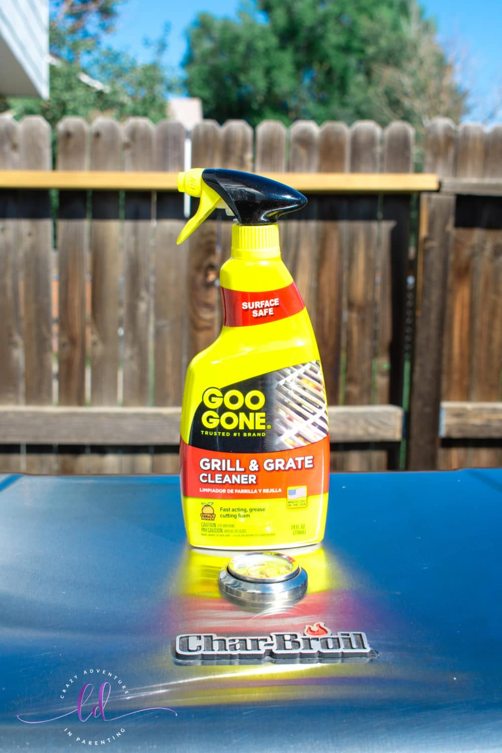Easy to Use Goo Gone Grill and Grate Cleaner