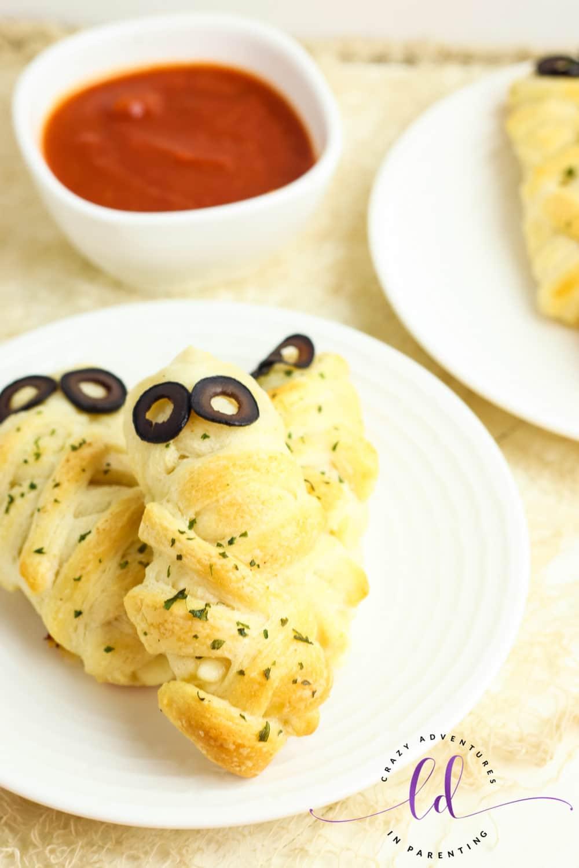 Cheesy Mummy Breadsticks Recipe