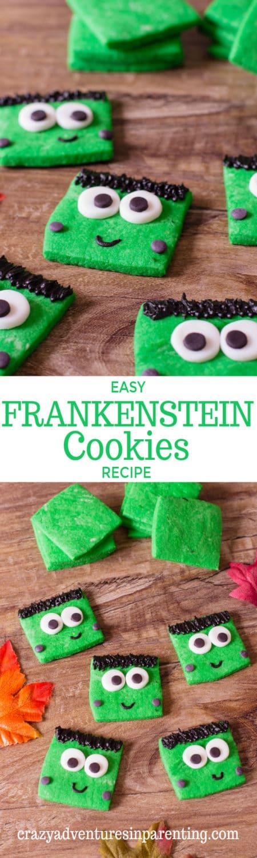 Easy Frankenstein Cookies Recipe