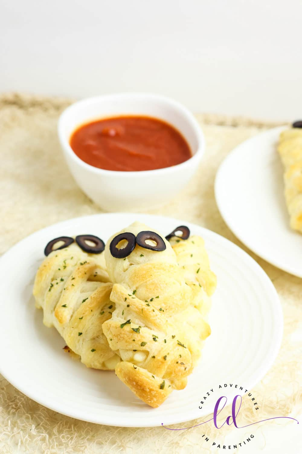 Easy and Cheesy Mummy Breadsticks