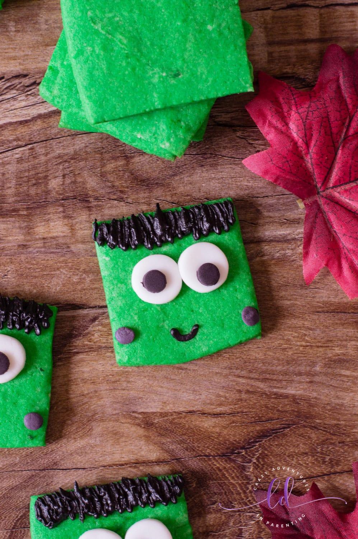 Frankenstein Cookies Adorableness