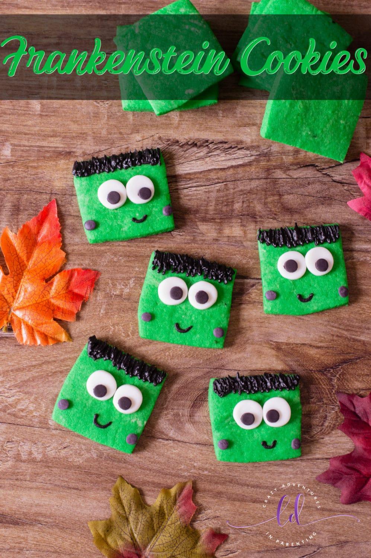 Frankenstein Cookies Recipe