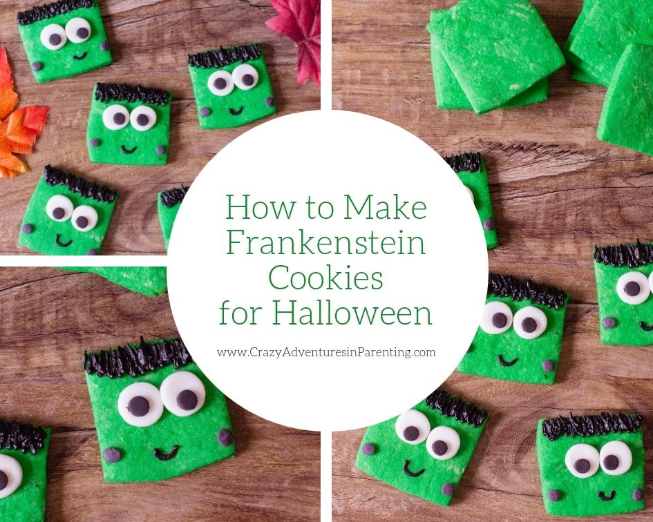 How to Make Frankenstein Cookies for Halloween