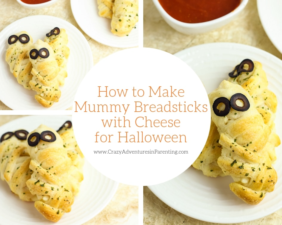 How to Make Mummy Breadsticks with Cheese for Halloween