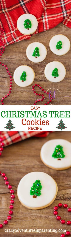 Easy Christmas Tree Cookies Recipe