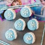 Easy to Decorate Elsa Frozen Cupcakes Recipe