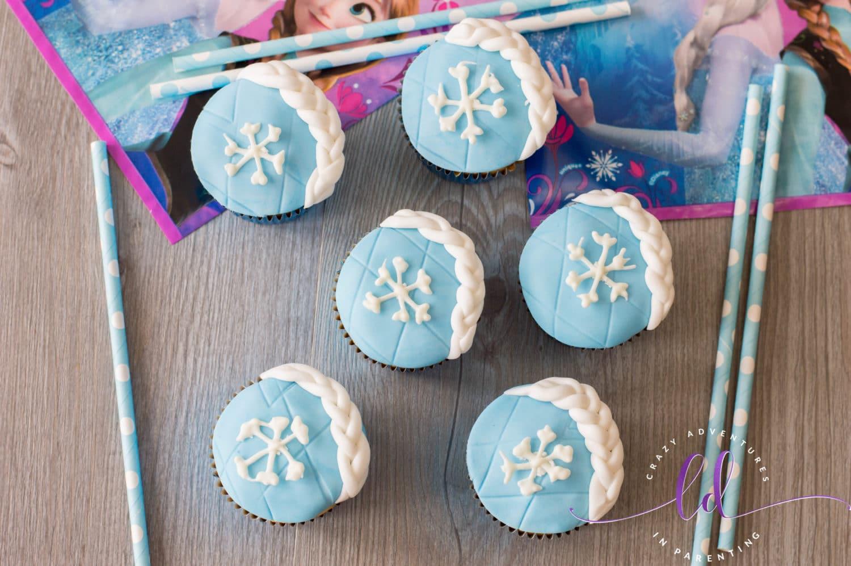 Homemade Elsa Frozen Cupcakes Recipe