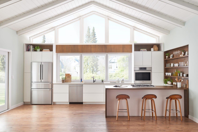New Bosch Counter Depth Refrigerators