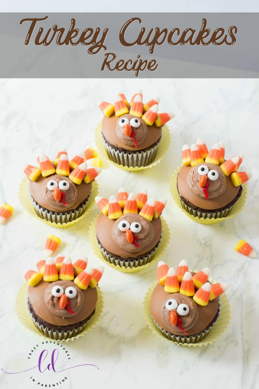 Turkey Cupcakes Recipe