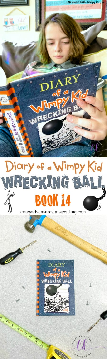 Book 14 Diary of a Wimpy Kid Wrecking Ball