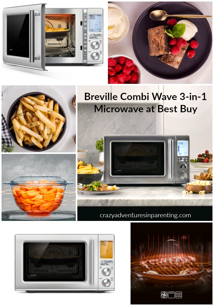 Breville Combi Wave 3-in-1 Microwave Available at Best Buy