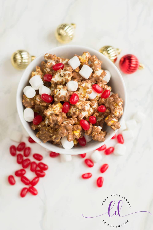 Delicious Christmas Popcorn Recipe