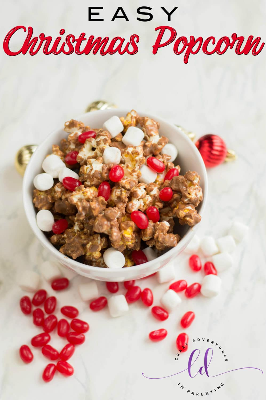 Easy Christmas Popcorn
