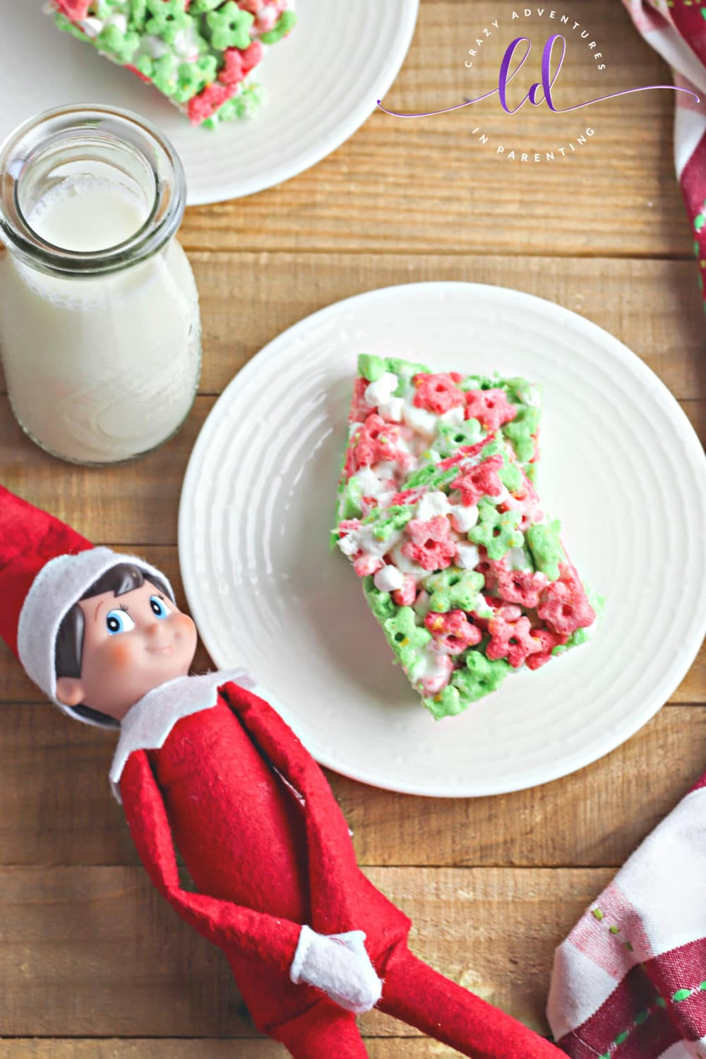 Elf on the Shelf Loves Elf on the Shelf Cereal Treats