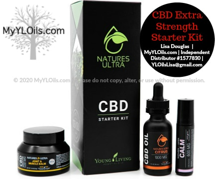 CBD Extra Strength Young Living Starter Kit new for 2020