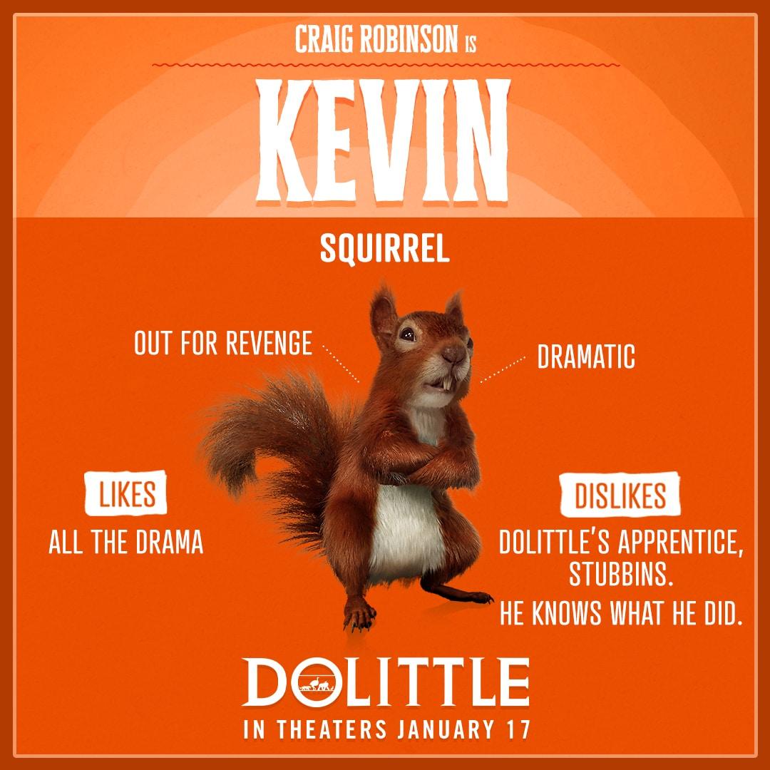 Dolittle Animal Trading Cards Kevin
