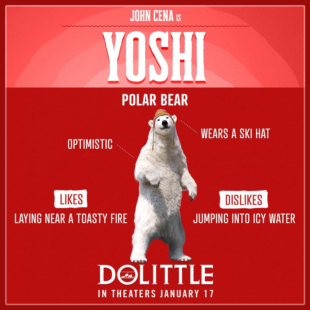 Dolittle Animal Trading Cards Yoshi