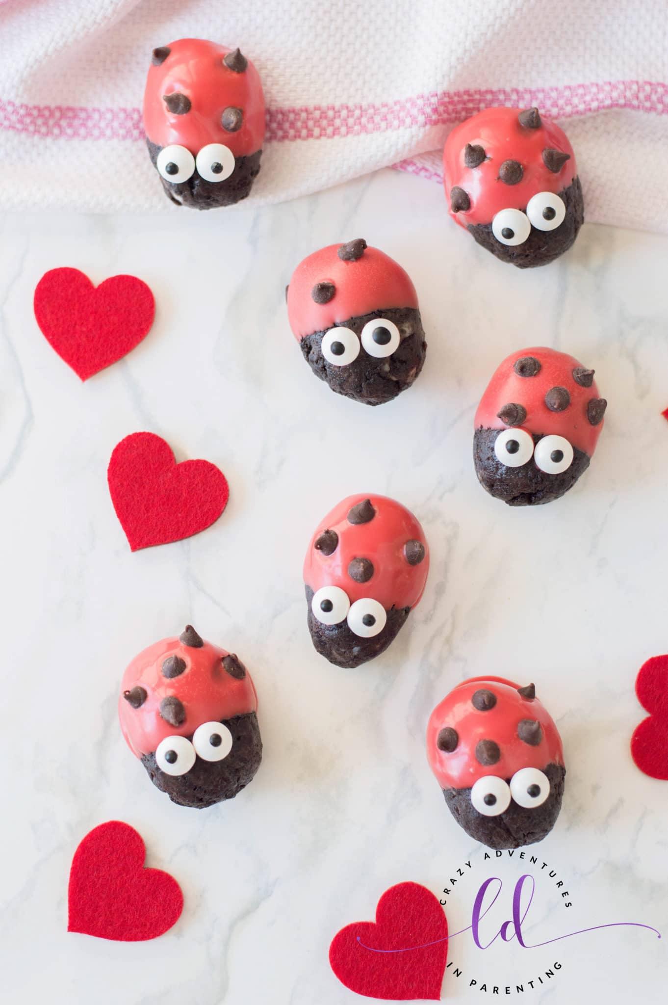 Easy Ladybug Lovebug Oreo Truffles Recipe