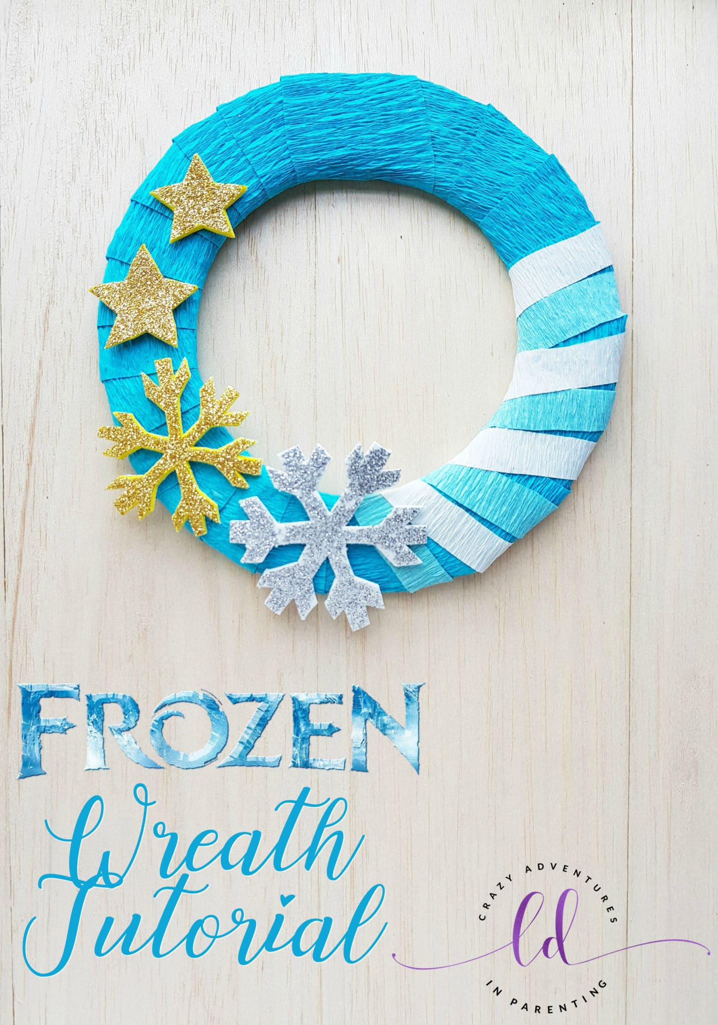 Frozen Wreath Tutorial