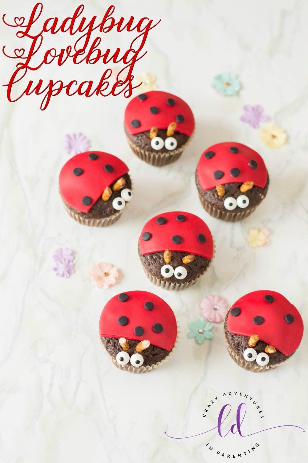 Ladybug Lovebug Cupcakes Recipe
