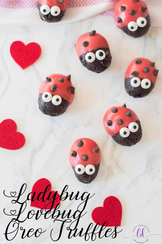 Ladybug Lovebug Oreo Truffles