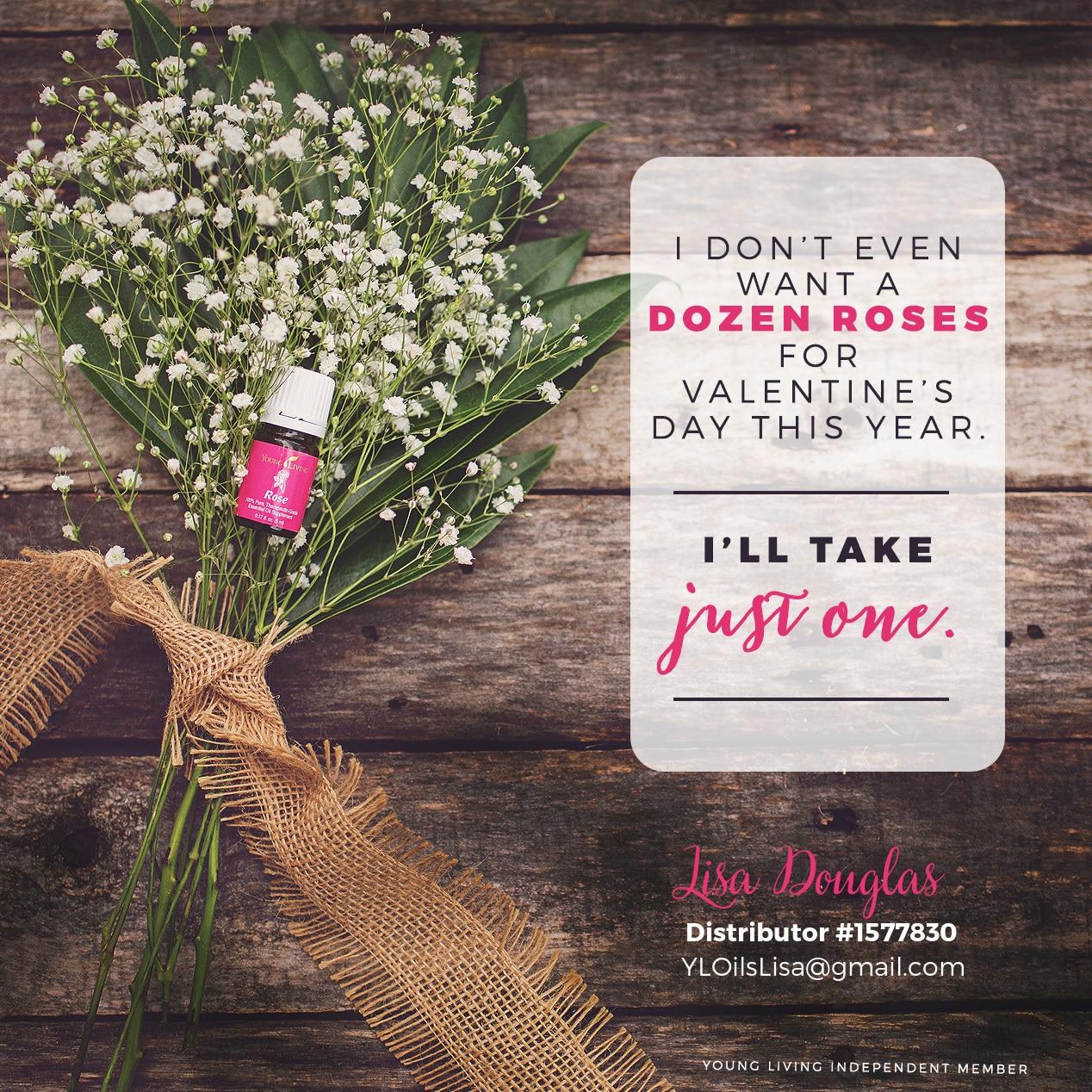 Rose Oil for Valentine's Day