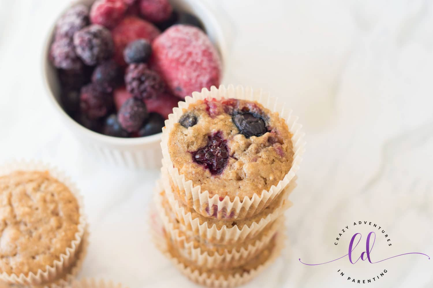 Simple Healthy Berry Muffins Recipe