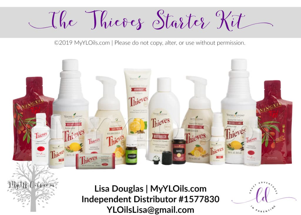 2019 Young Living Thieves Starter Kit