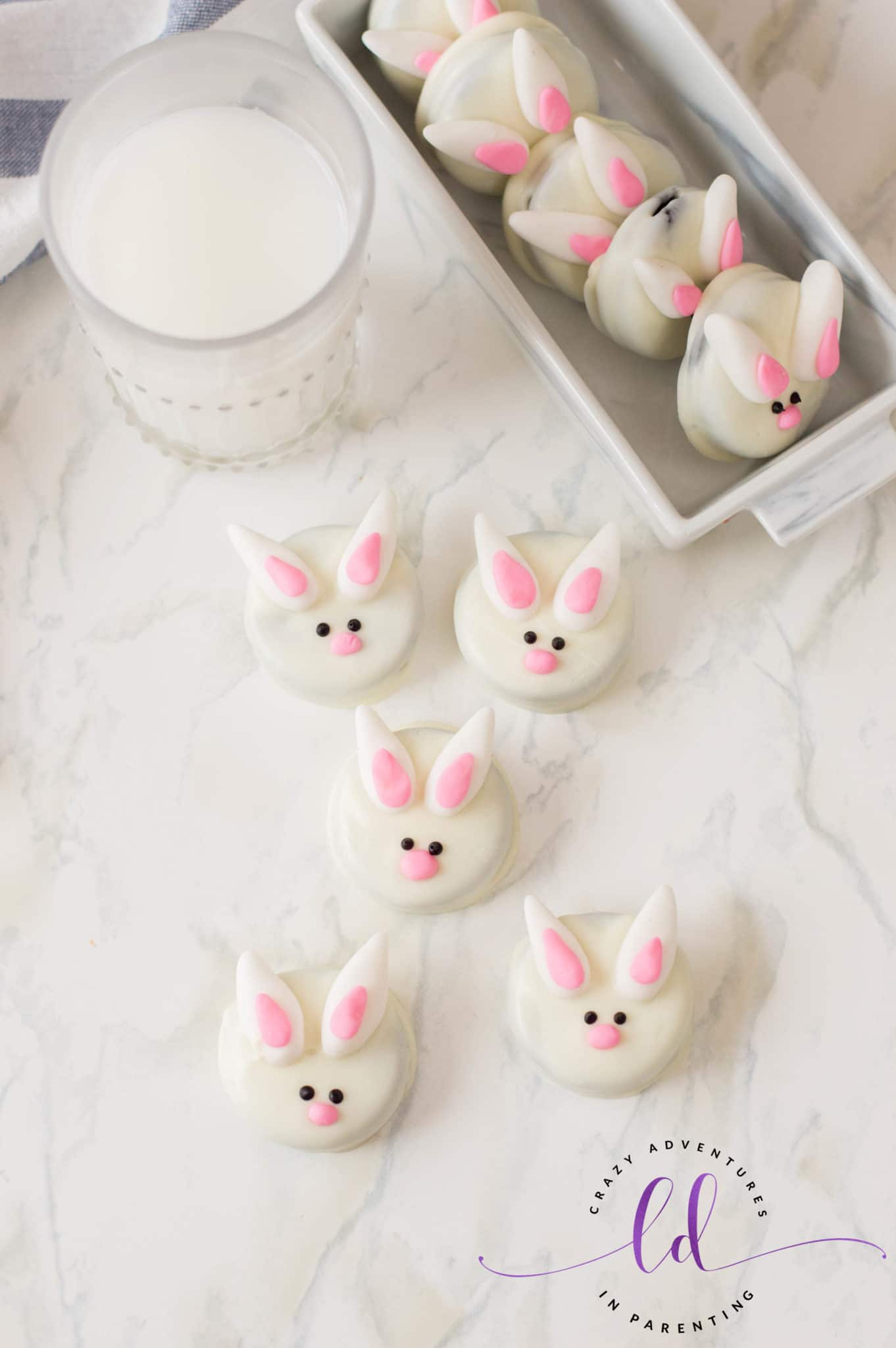 Bunny Oreo Cookies Recipe for Spring