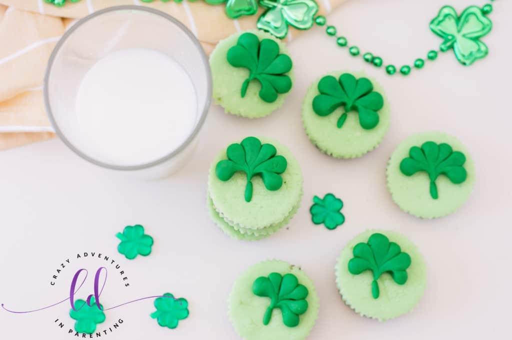St. Patrick's Day Mini Cheesecakes Recipe