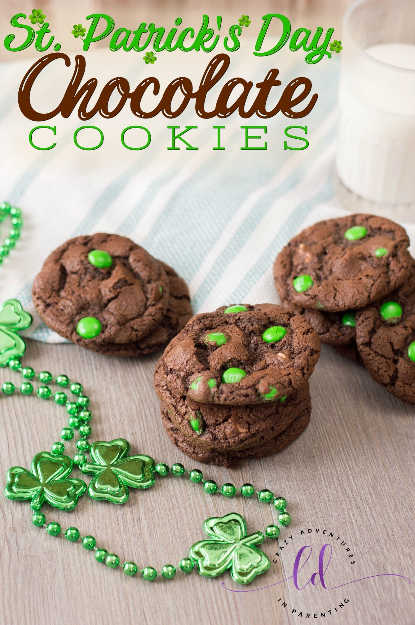 St Patricks Day Chocolate Cookies