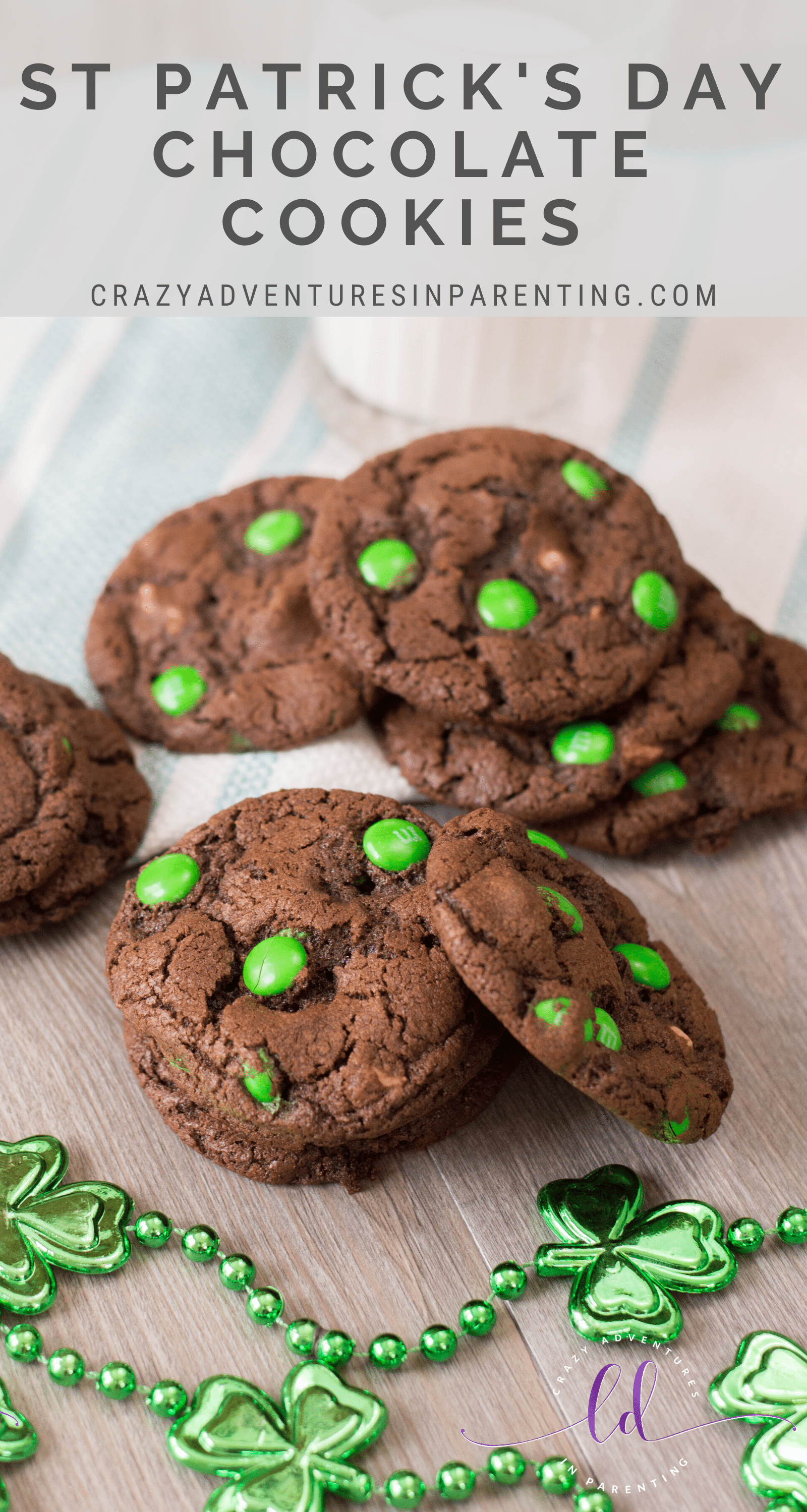 St Patrick's Day Chocolate Cookies