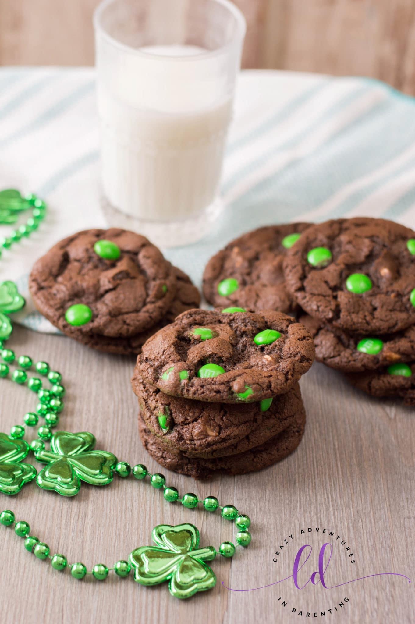 St Patricks Day Chocolate Cookies Recipe