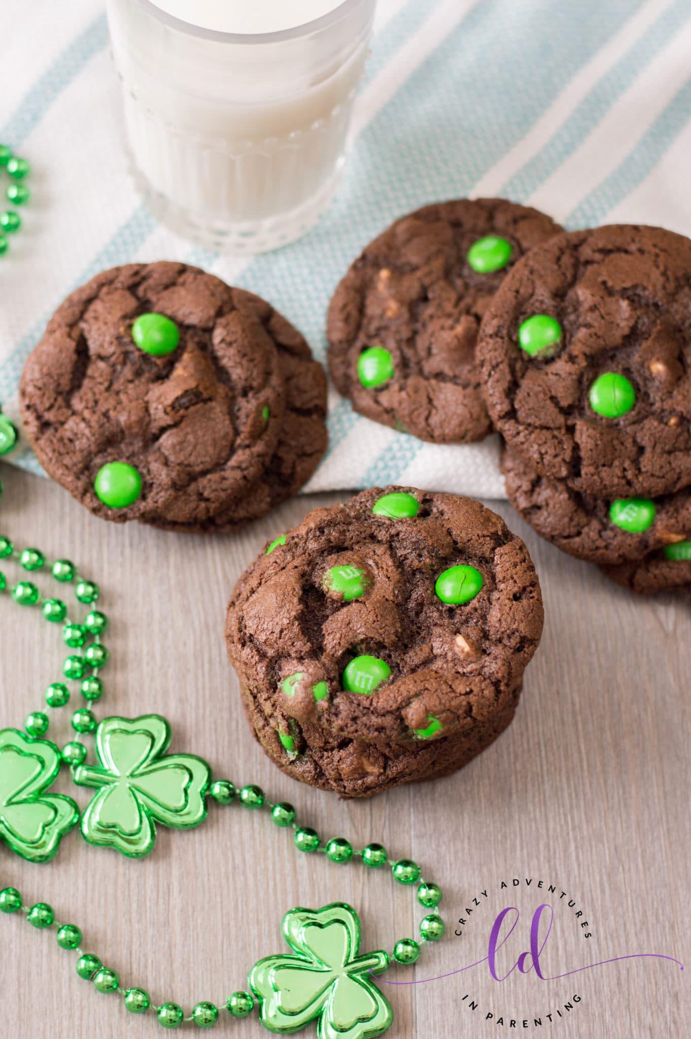 St Patricks Day Chocolate Cookies