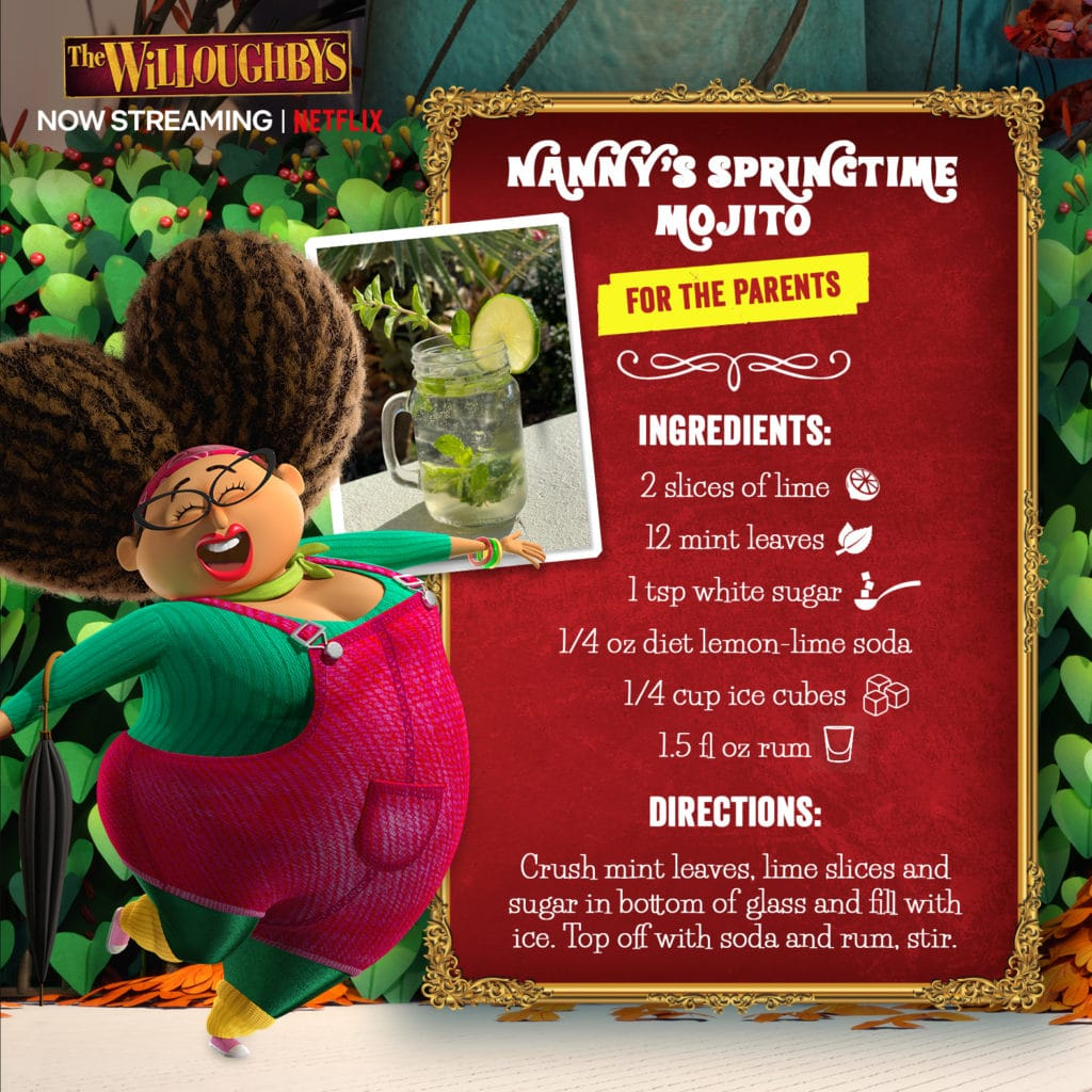 Nanny's Springtime Mojito Recipe from The Willoughbys