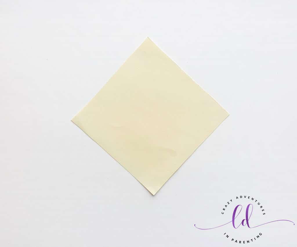 Square Paper for Unicorn Corner Bookmark