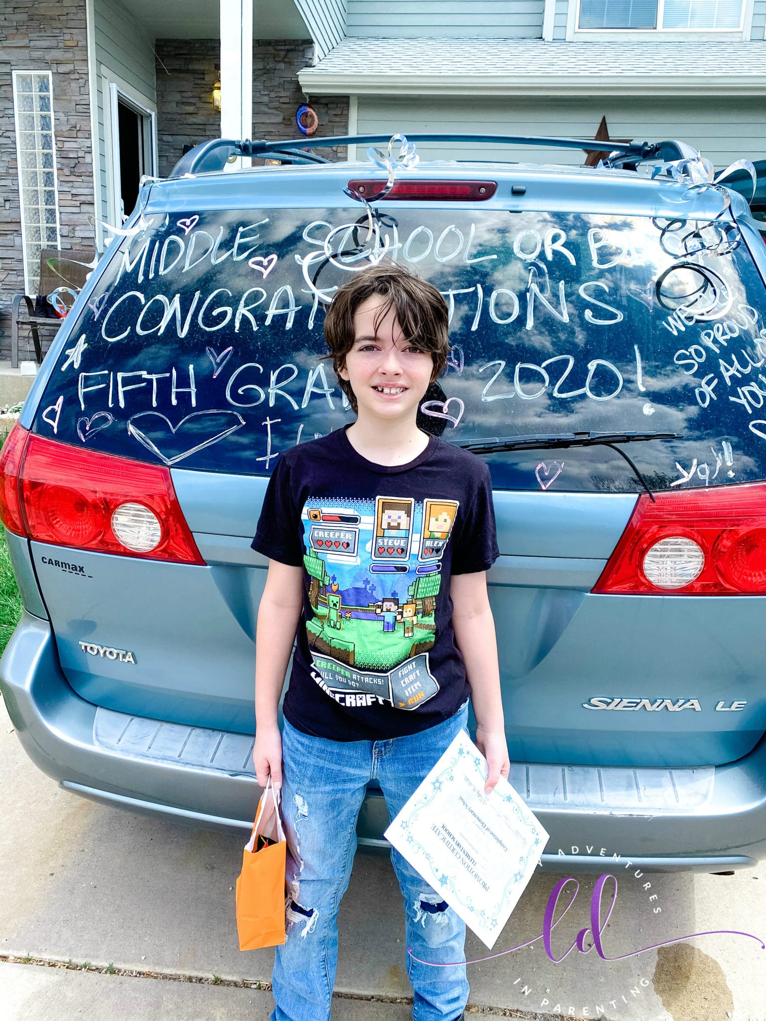 5th Grade Continuation May 2020